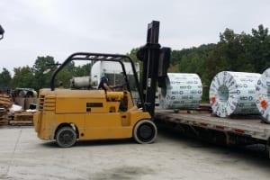 Ricky-unloading-coils